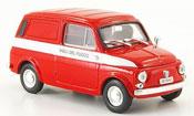 Autobianchi Furgoncino miniature 500 Vigili de Fuoco 1972