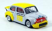 Miniature Fiat Abarth 1000   No.198 Scuderia Brescia 1972