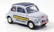 Fiat 500 Nuova Prova Di Durata Quattroroute 1958