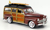 Ford Woody miniature marron 1948