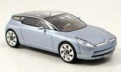 Citroen C miniature Airdream grise metalliseebleu concept
