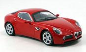 Alfa Romeo 8C Competizione  rosso 2007 M4