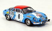 renault alpine a110 miniature christine laure j henry m gelin tour de corse 1975 trofeu. Black Bedroom Furniture Sets. Home Design Ideas