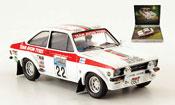 Miniature Rallye Ford Escort MK2 British Rally Legends RAC Rally 1976