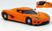 Koenigsegg CCX orange