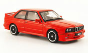 Bmw M3 E30  Evolution Cecotto Edition rouge 1989 Autoart