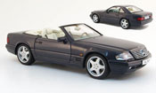 Mercedes SL 600 (r 129) nero 1993