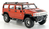 Miniature Hummer H2   rouge