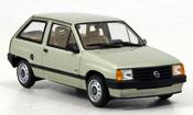 Opel Corsa a verde