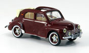 Renault 4CV   cabrio red 1955 IXO