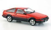 Toyota Trueno miniature sprinter (ae86) rouge noire