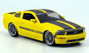 Ford Mustang 2007  giallo grigio Cesam by Parossoech 2007 Norev