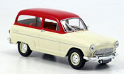 Simca P 60 ranch beige/ red 1961