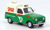 Renault 4L   fourgonnette spar MCW 1/43