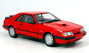 Ford Mustang 1986 svo red