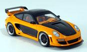Gemballa GTR miniature 650 noire orange 2007