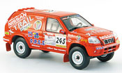 Nissan X Trail miniature No.245 Rally Dakar 2002