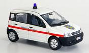 Fiat Panda   police Frankreich 2004 Norev