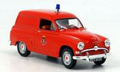 Simca Aronde lieferwagen pompiers