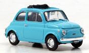 Fiat 500   R blue 1972 Brumm