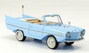 Amphicar Cabrio miniature Cabrio bleu 1961