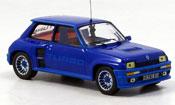 Renault 5 Turbo  i bleu 1982 IXO 1/43