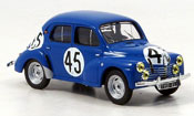 Renault 4CV miniature no.45 vernet le mans 1950
