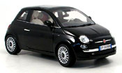 Fiat 500 black 2007