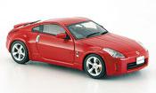Nissan 350Z   Fairlady rouge Coupe Facelift 2005 Ebbro 1/43