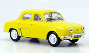 Renault Dauphine miniature jaune 1961