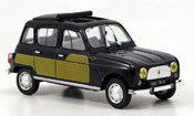 Renault 4L   parisienne noire 1964 MCW 1/43