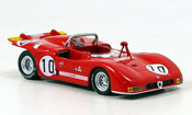 Miniature Alfa Romeo 33.3 1971  no.10 n.galli nurburgring