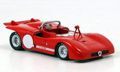 Alfa Romeo 33.3 1971  prova rouge M4 1/43