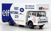 Ford Type C miniature Team Elf Transporter Formule 1