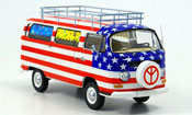 Volkswagen Combi   t2a bus stars and stripes Schuco