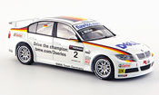 Bmw 320 WTCC  Muller Team Germany WTCC 2007 Minichamps