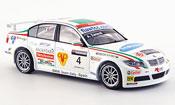Miniature Bmw 320 WTCC  Zanardi Team Italien Spanien WTCC 2007