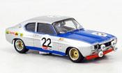 Ford Capri 2600 miniature RS Glemser Sieger Spa 1971