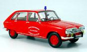 Renault 16   pompiers pont du chateau 1968 Norev 1/18