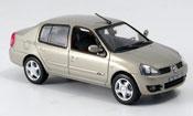 Renault Clio   symbol beige 2007 Norev 1/43
