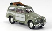 Fiat 500 Belvedere grey 1952