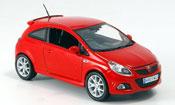 Miniature Opel Corsa   VXR rouge 2007