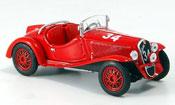 Fiat Balilla Sport Mille Miglia red 1937
