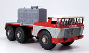 Berliet T100 miniature No.4 rouge grise 1959
