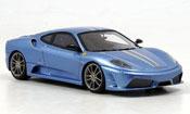 Ferrari F430 Scuderia blue avec grayen streifen