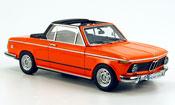 Bmw 2002 Tii (E 10) Baur Cabrio orange 1974