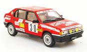 Alfa Romeo 33 miniature no.30 rallye monte carlo 1986
