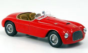 Miniature Ferrari 166 1948  MM rouge