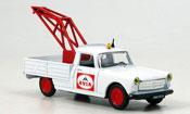 Peugeot 404 miniature Pick up abschleppwagen avia