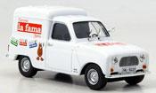 Renault 4L   turrones la fama MCW 1/43